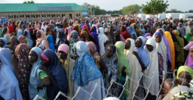 Photo of Nigerian Customs donate seized 300bags of Rice to IDPs
