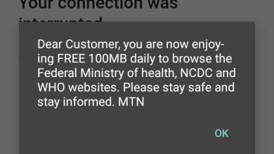 Photo of Federal Ministry of Health Sponsors Free 100MB Daily To Nigerians