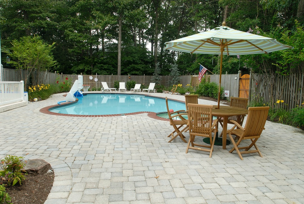 Pool & Spa Landscaping Design Annapolis & Baltimore, MD on Patio Ideas Around Pool id=43643