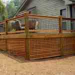 Traditional Deck Railing Kit Aluminum Railing System