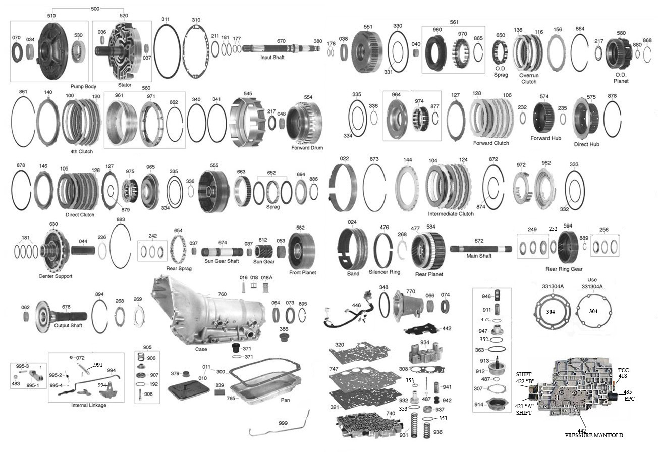 Th400 Trans Wiring Diagram