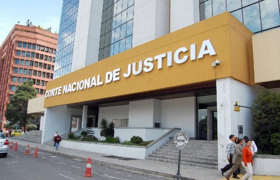 Resultado de imagen para corte nacional de justicia ecuador