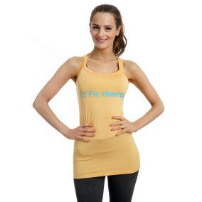Yoga Top Yellow