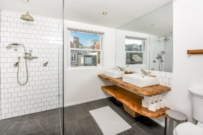 Modern Bathroom - AirBnB