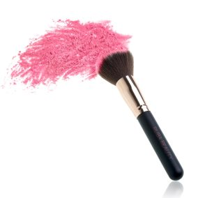 Makeup Brush And Powder