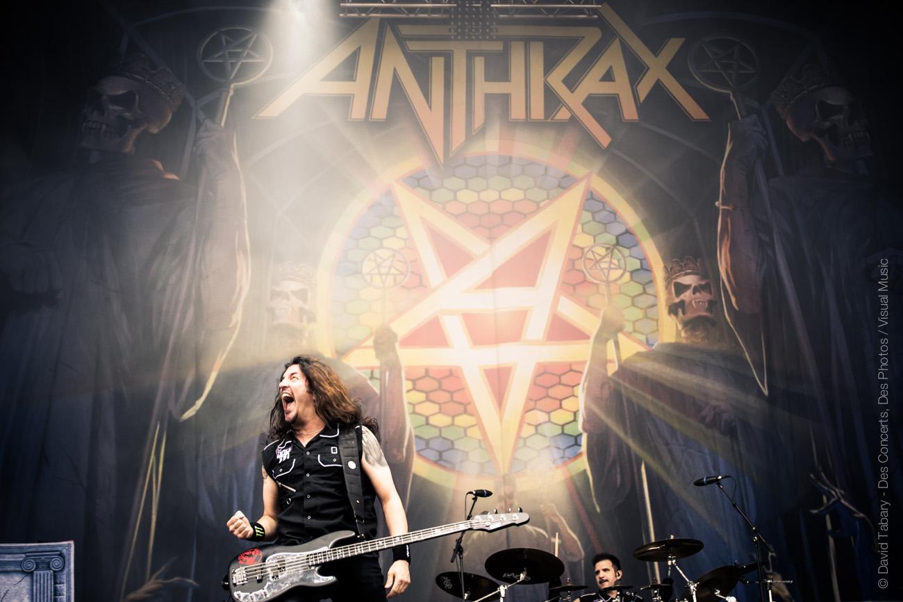 Anthrax, Download Festival Paris, 10 juin 2016