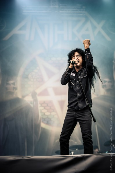 Anthrax, Download Festival Paris, 10 juin 2016