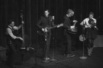 Jack White acoustic in alaska vault package