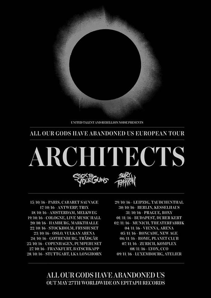 architects tour 2016