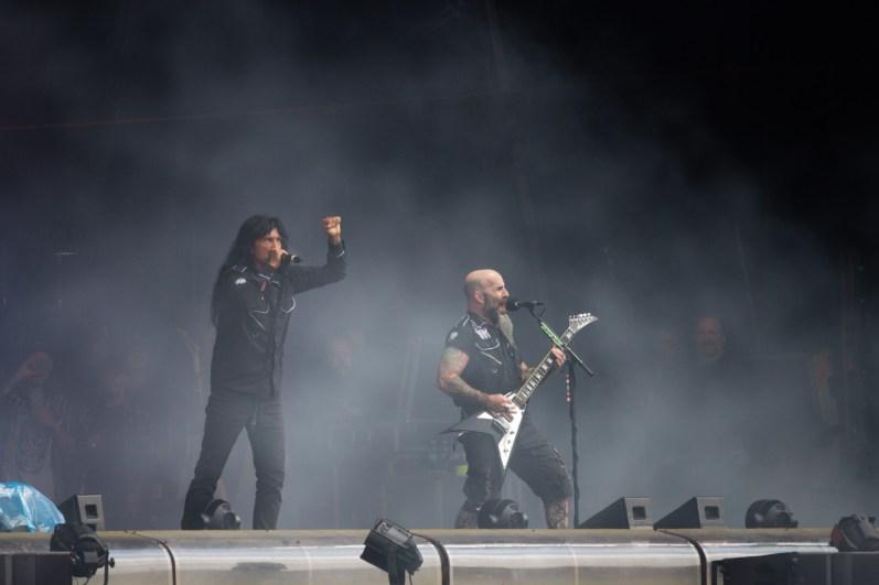 Anthrax au Hellfest le 17 juin 2016