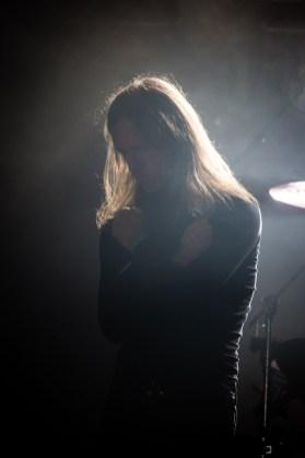 Lee Dorrian avec With The Dead au Hellfest le 18 juin 2016