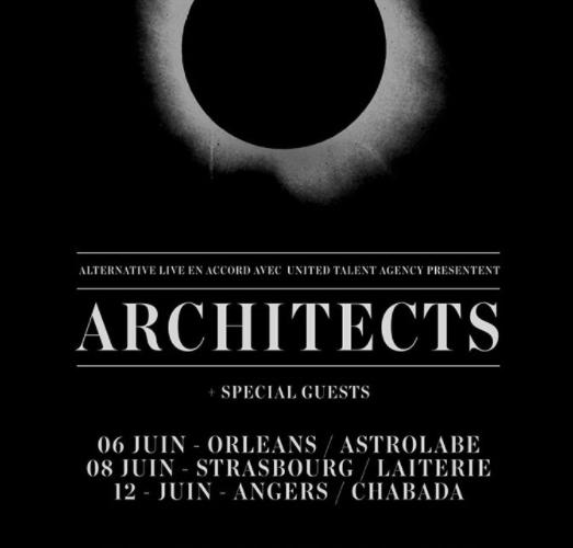 architects tournée fr 2017