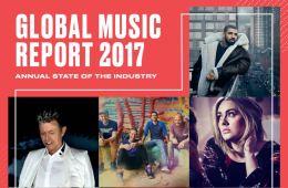 global music report 2017 bilan industrie musique