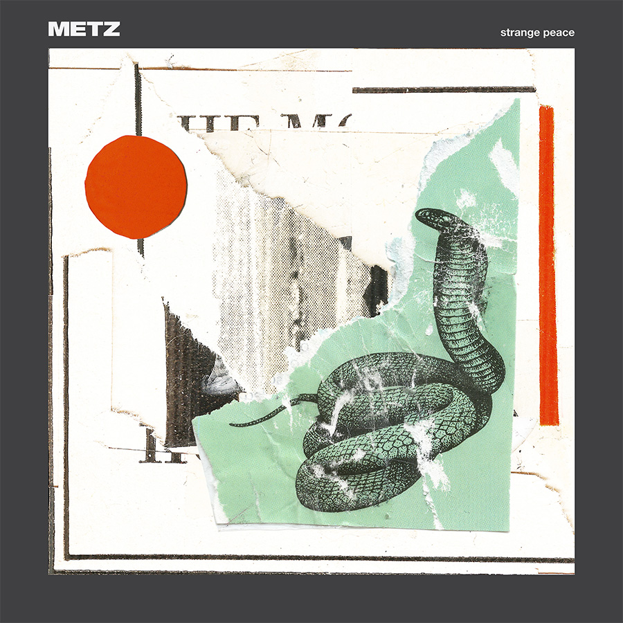 metz strange peace cover nouvel album