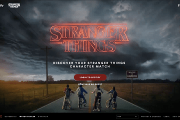 stranger things spotify playlist