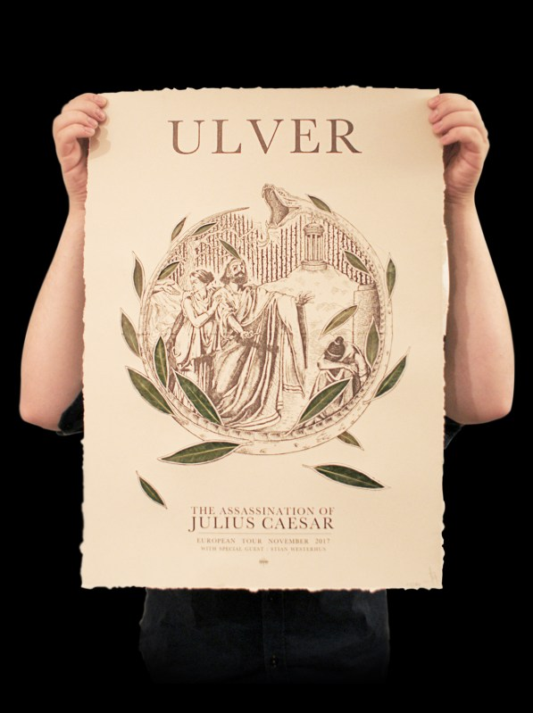 Ëmgalaï Grafik - Ulver - The Assassination of Julius Caesar European Tour