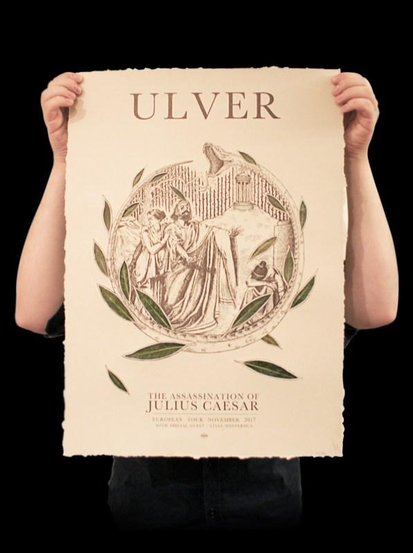 Ëmgalaï Grafik - Ulver - The Assassination of Julius Caesar European Tour