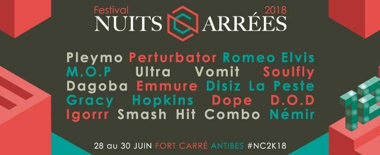 festival nuits carrées antibes programmation 2018