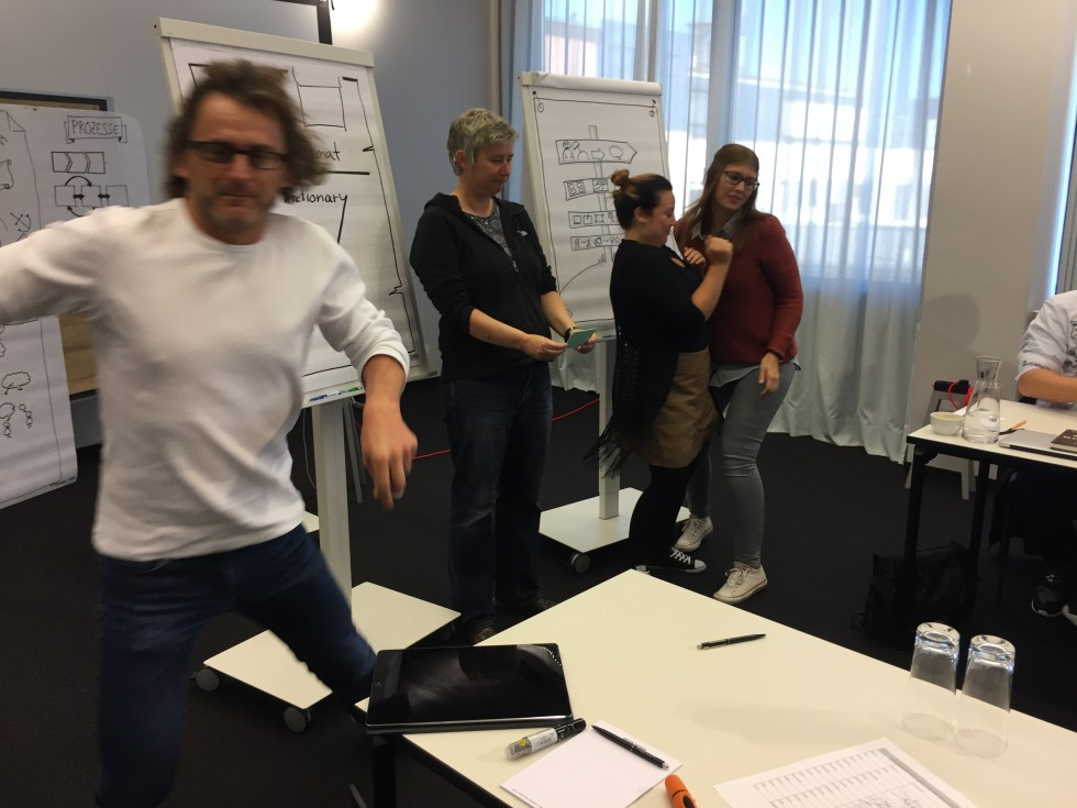 Visualisierungs-Workshop an der SHIFTSCHOOL