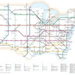 Infographic U S Interstate Highways As A Transit Map