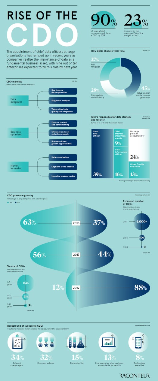 The Rise of the Chief Data Officer (CDO)