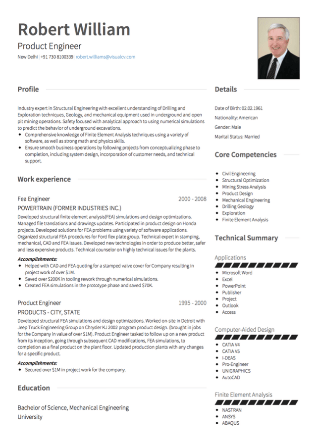 Swiss CV Tips, Format Requirements, & Examples  VisualCV