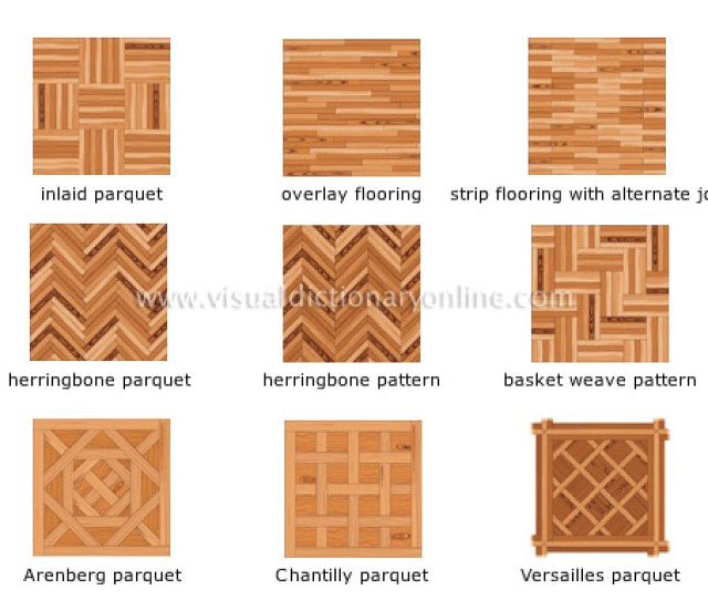 Wood Flooring Arrangements