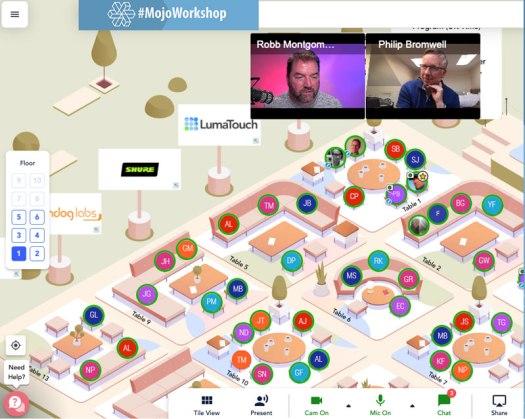Mojo workshop - Conference floor plan