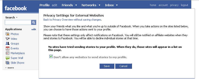 Facebook Privacy Settings (2)