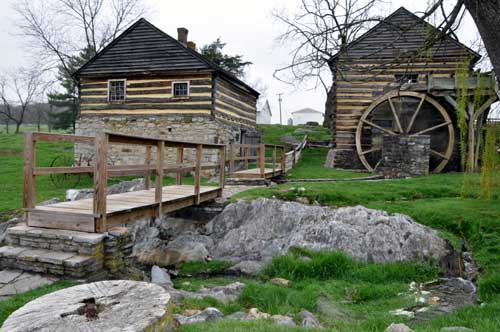 Grist Mill and Workshop, Cyrus McCormick Farm and Workshop, Raphine, VA