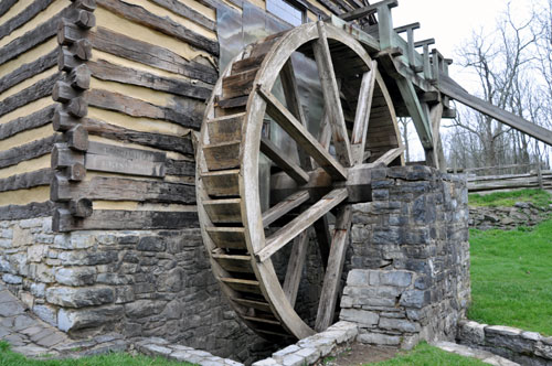 Grist Mill Wheel, Cyrus McCormick Farm and Workshop, Raphine, VA