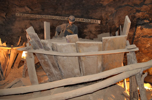 Organ Cave Hopper used by Confederate Soldiers