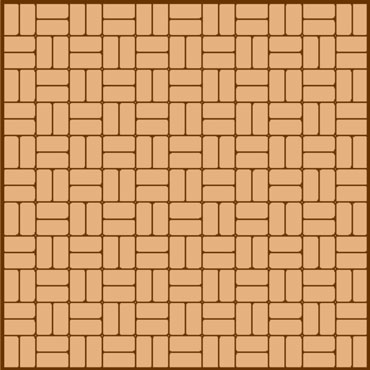basketweave paving pattern