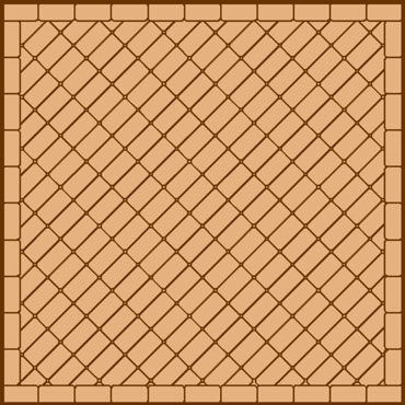stack paving pattern