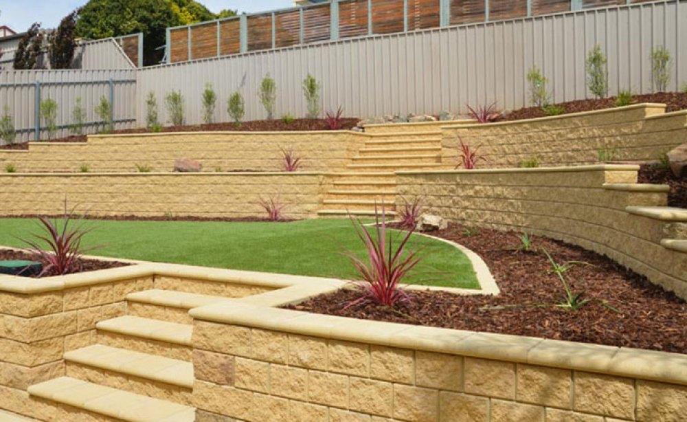 Retaining Walls | Visual Landscape Gardening