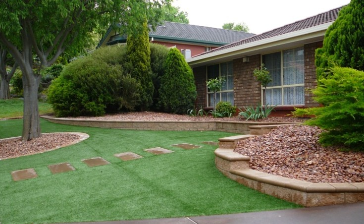 Low Maintenance Garden Design Ideas On A Budget Adelaide. on Low Maintenance Backyard  id=36642