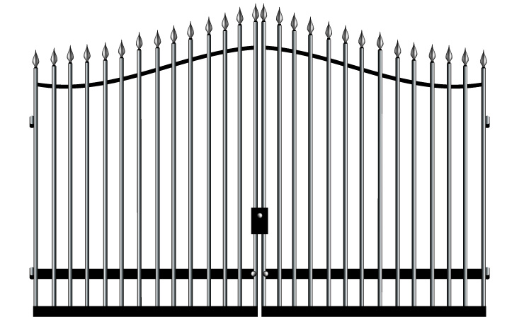 Spear Arched Gates