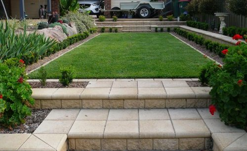 Low Maintenance Back Garden Landscape Design Greenwith