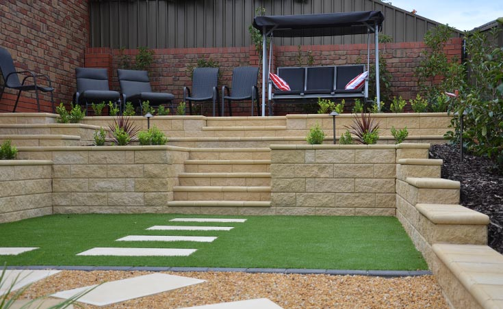 Semi Formal Low Maintenance Landscaping Wynn Vale