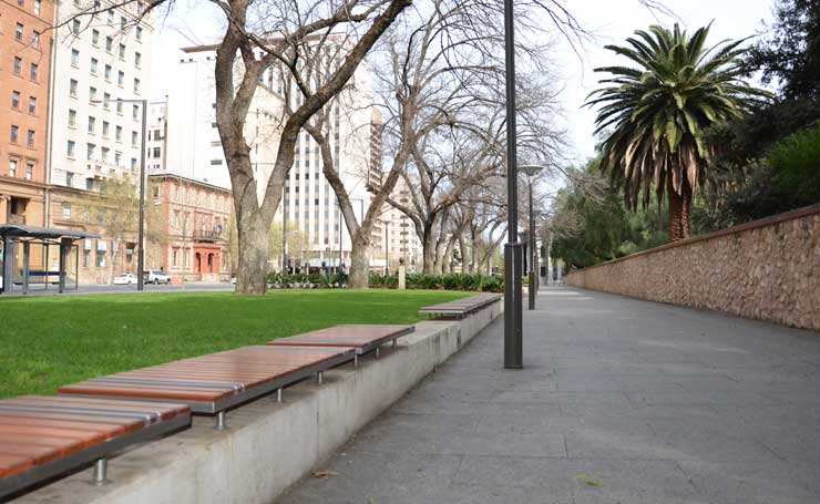 Landscaping Adelaide's North Terrace 3