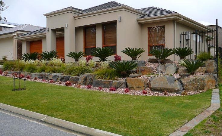 Garden Landscaping Ideas For Sloping Gardens Adelaide