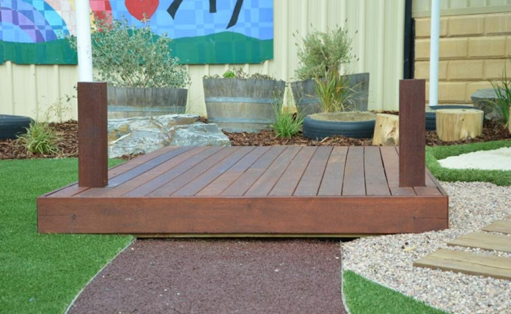 Merbau Decking by Sandpit