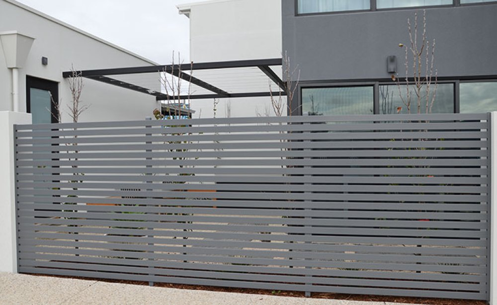 Aluminium Slat Privacy Screens