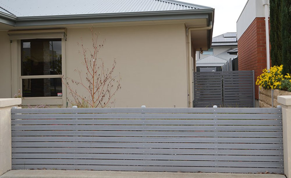 Composite Timber Slat Screen Fence
