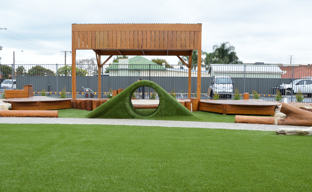 Child Care Centre Landscaping | Natural Turf