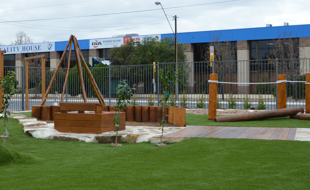 Child Care Centre Landscaping | Synthetic Turf