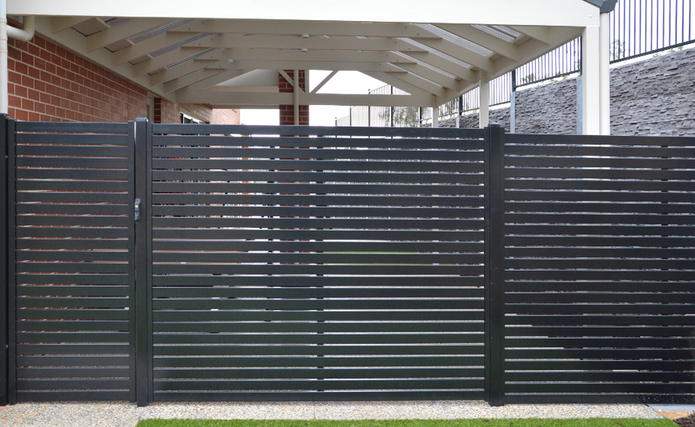 Aluminium Slat Privacy Screen   Privacy Screens Adelaide