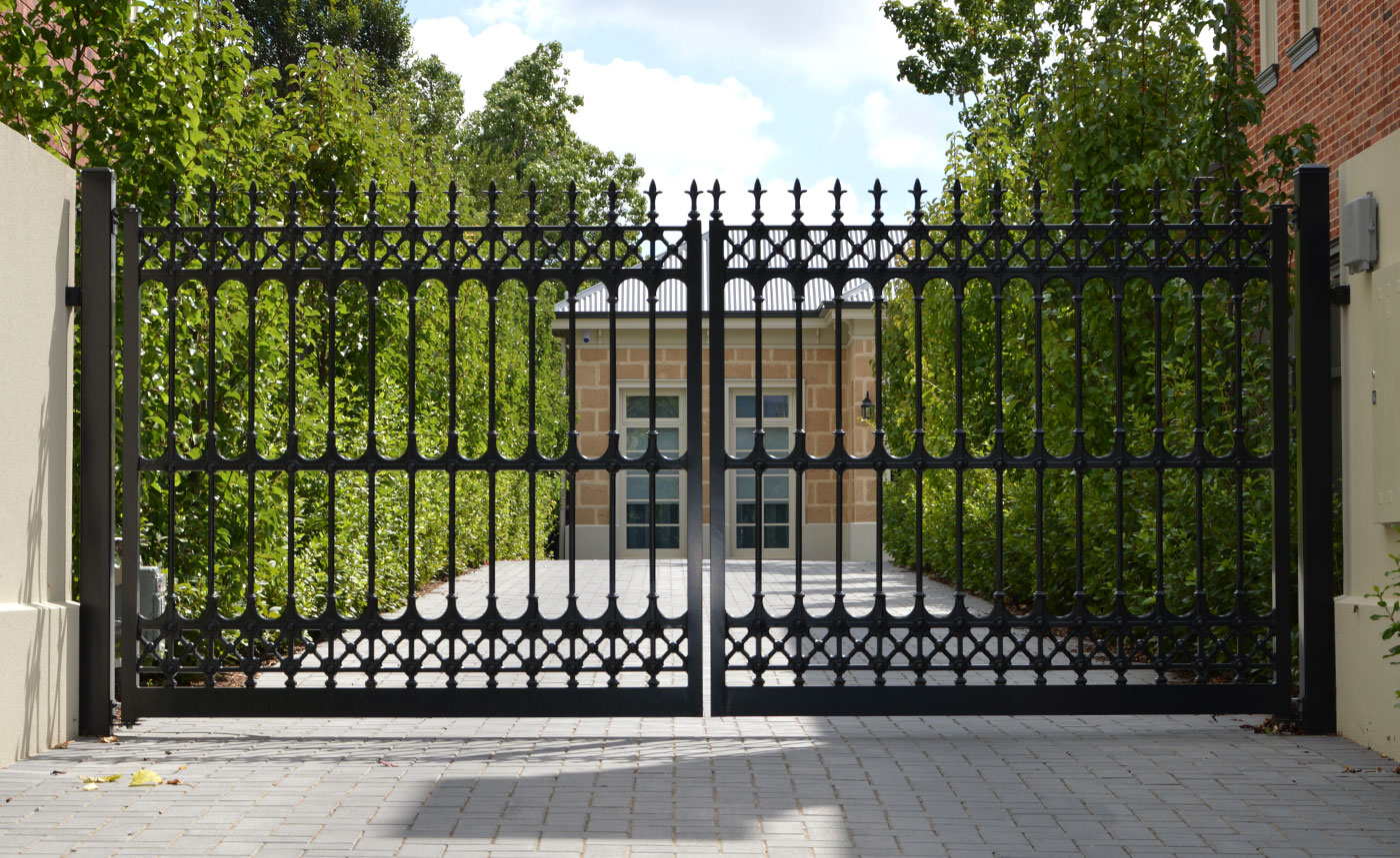 Wrought Iron Fencing Adelaide | Visual Landscape Gardening