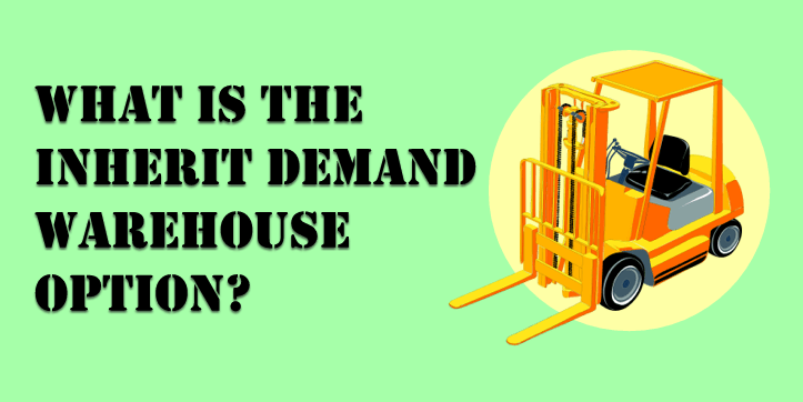 What is the Inherit Demand Warehouse Option