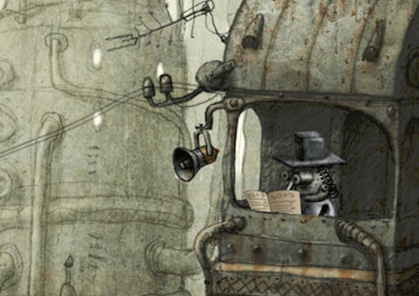machinarium guard tower